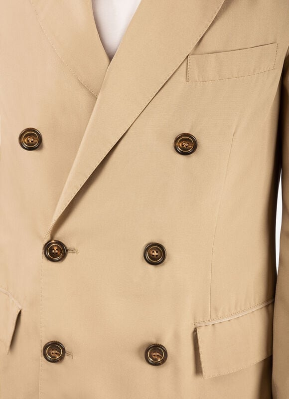 BEIGE SILK Outerwear - Bally
