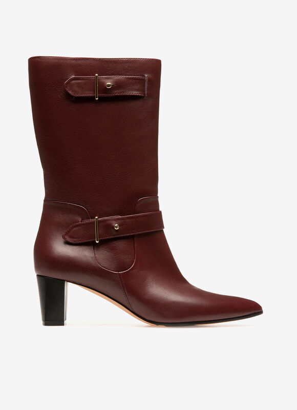 BURGUNDY CALF Boots - Bally