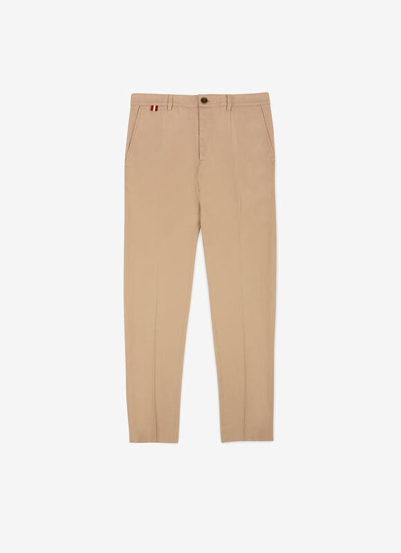 BEIGE MIX POLY./COTTON Pants - Bally