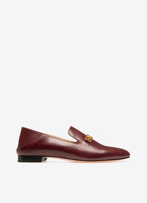 BORDEAUX BOVINE Chaussures plates - Bally