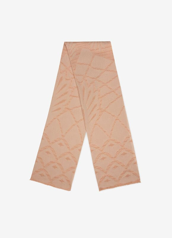 PINK MIX POLIESTER/SILK Scarves - Bally