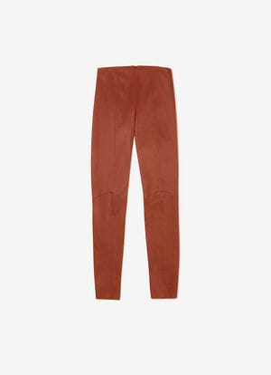 ORANGE LAMB NAPPA Pants - Bally