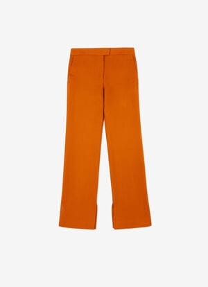 ORANGE MIX VISCOSE Pants - Bally