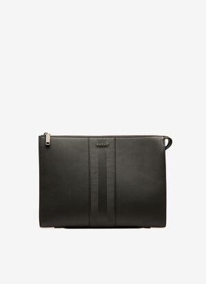 NOIR CALF Clutches & Portfolios - Bally