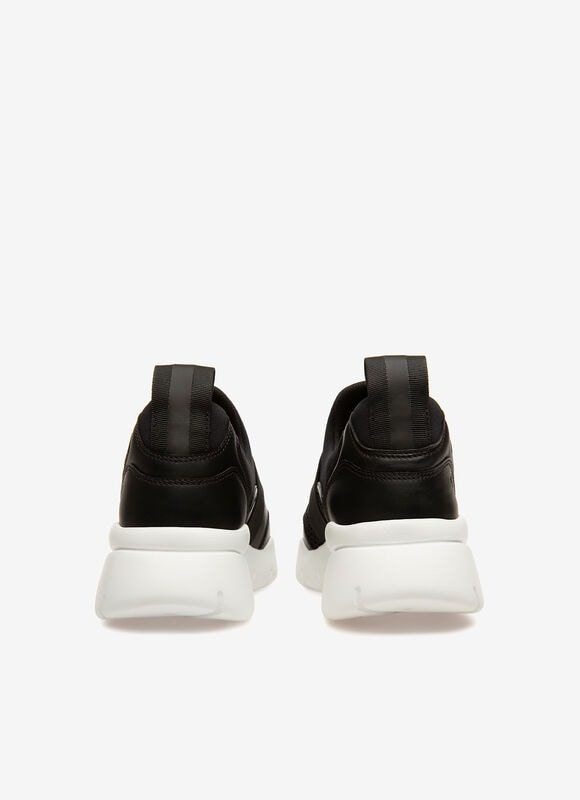 BLACK POLYESTER Sneakers - Bally