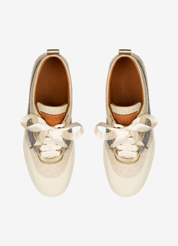 BLANC MIX SYNT Souliers - Bally