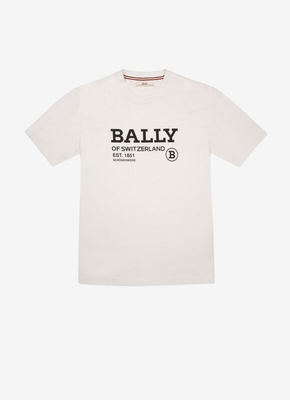 WEIß COTTON Herrenhemden und T-Shirts - Bally