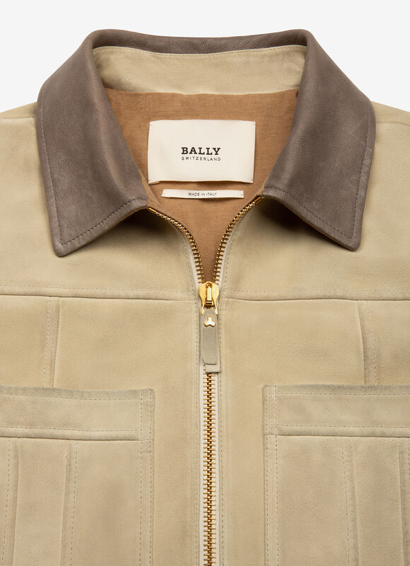 WHITE CALF Leather - Bally