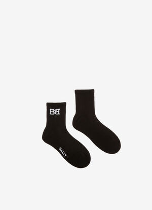 SCHWARZ MIX COTTON Socken - Bally