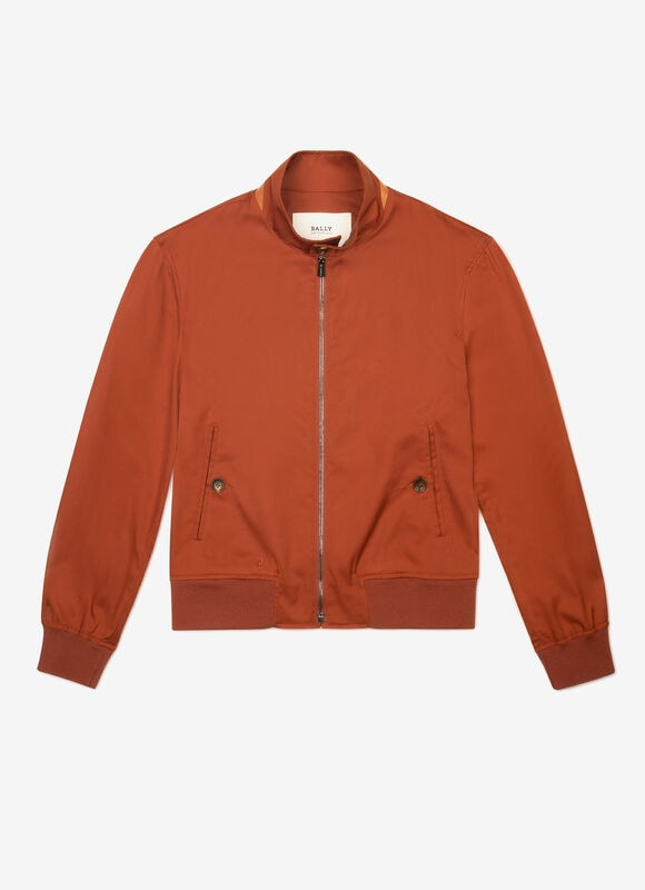MARRON MIX POLY./COTTON Outerwear - Bally