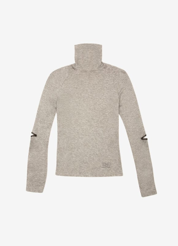 GRIS MIX WOOL Tops - Bally
