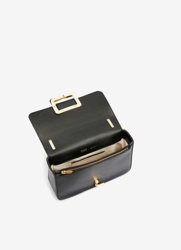 BLACK CALF Shoulder Bags - Bally