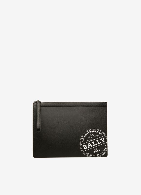 BLACK BOVINE Clutches & Portfolios - Bally