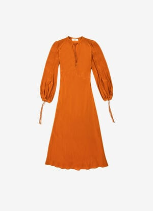 ORANGE VISCOSE Robes et Jupes - Bally