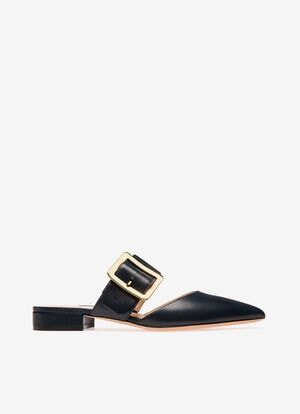 NAVY GOAT Slippers und Mules - Bally