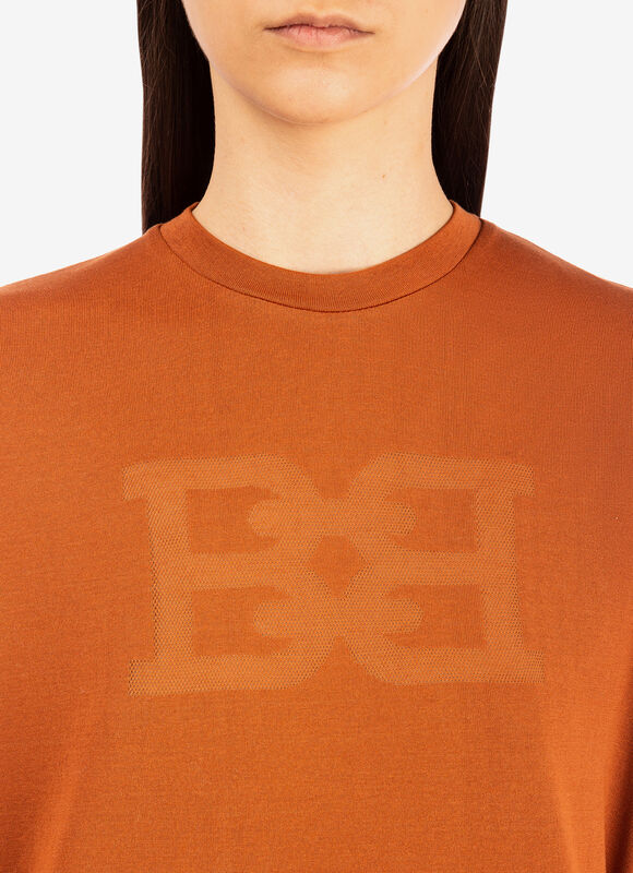 ORANGE COTTON Tops - Bally