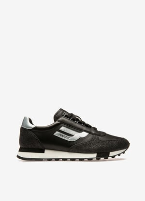 NOIR MIX SYNT Sneakers - Bally