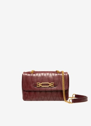 BURGUNDY BOVINE Cross-body Bags - Bally