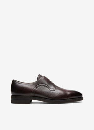 MARRON DEER Chaussures à lacets et derbies - Bally