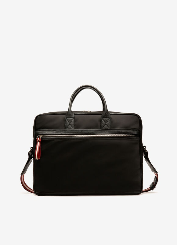 NOIR NYLON Porte-documents - Bally