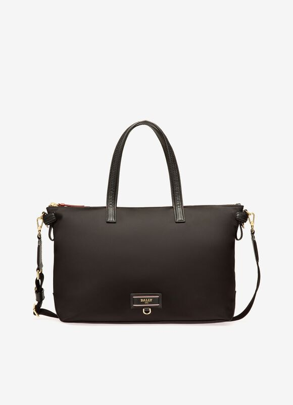 NOIR NYLON Cabas - Bally