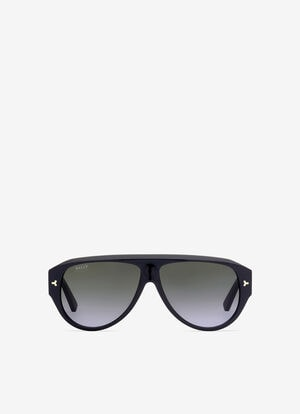 GREY PLASTIC Sunglasses - Bally