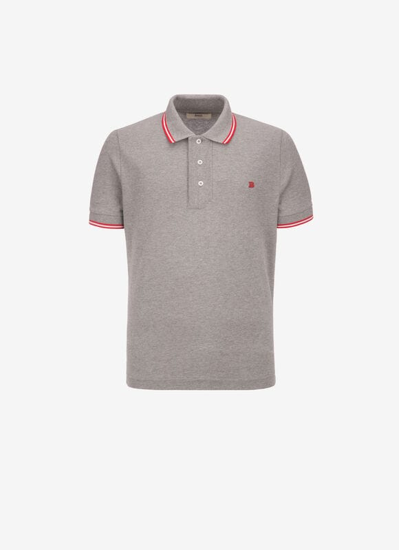 GRIS COTTON Chemises et T-Shirts - Bally