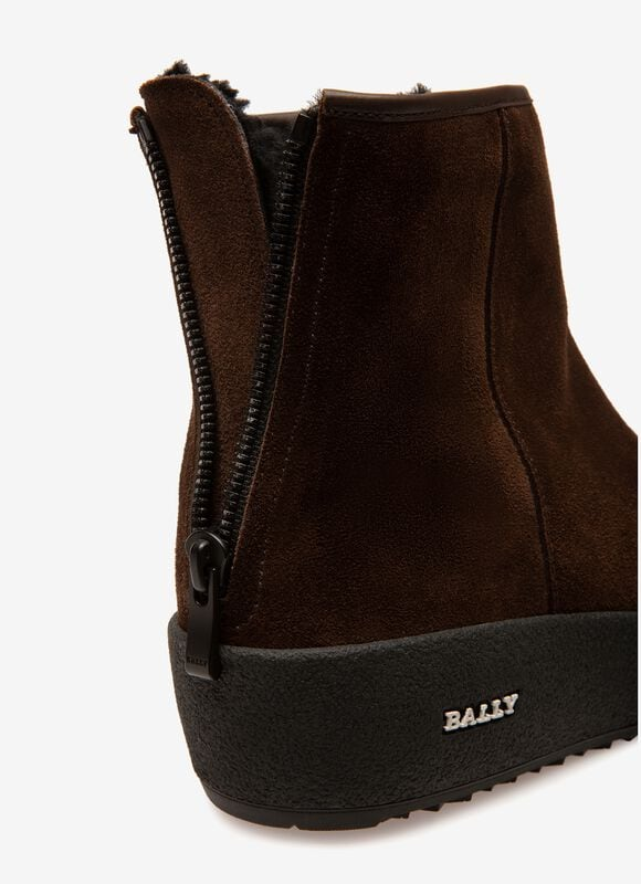 BRAUN CALF Snow Boots - Bally