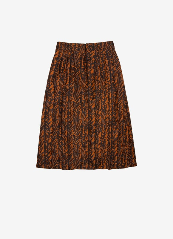 BLACK SILK Skirts - Bally