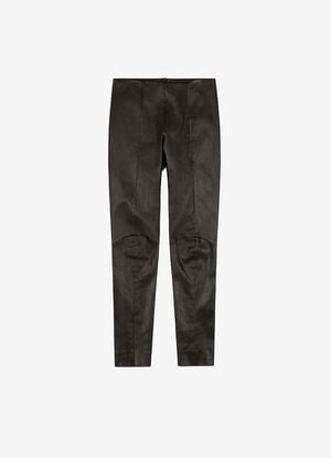 BLACK LAMB NAPPA Pants - Bally