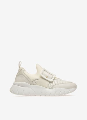 BLANC POLYESTER Sneakers - Bally