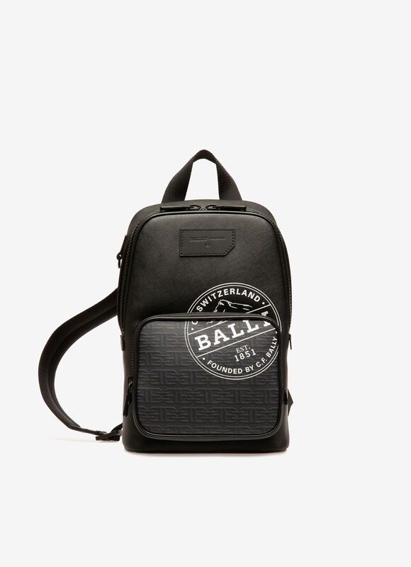 BLACK BOVINE Messenger Bags - Bally