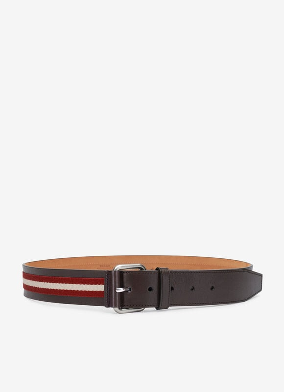 RED MIX COTTON/SYNT Belts - Bally
