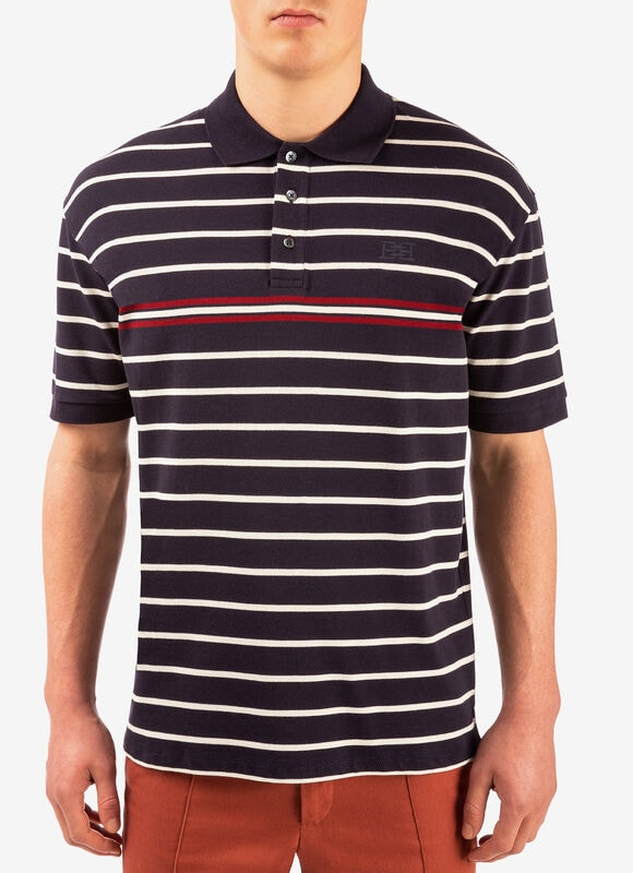 BLAU COTTON Herrenhemden und T-Shirts - Bally