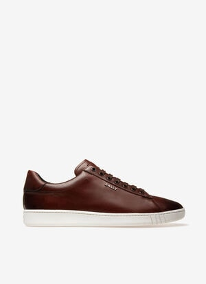 MARRON CALF Souliers - Bally